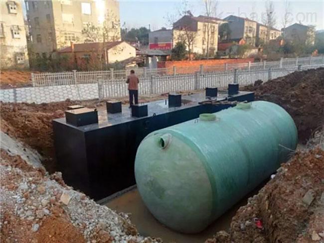 安順地埋式污水處理設備價格 水質確保驗收合格