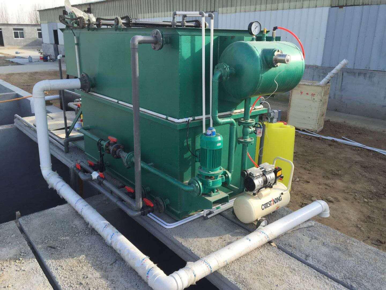眉山農村污水處理設備 出水水質達標