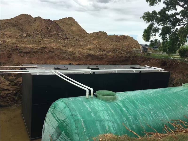 一體化污水處理設備介紹及工藝流程