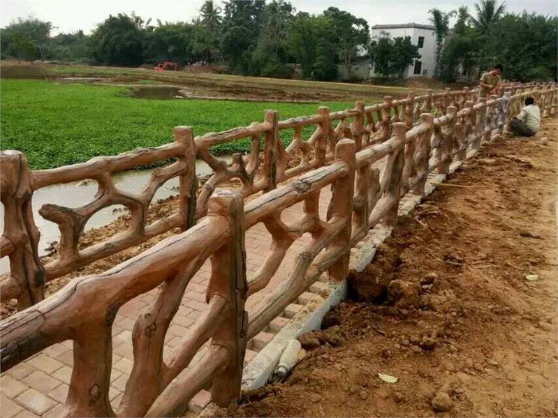 水泥仿木栏杆厂家供应商