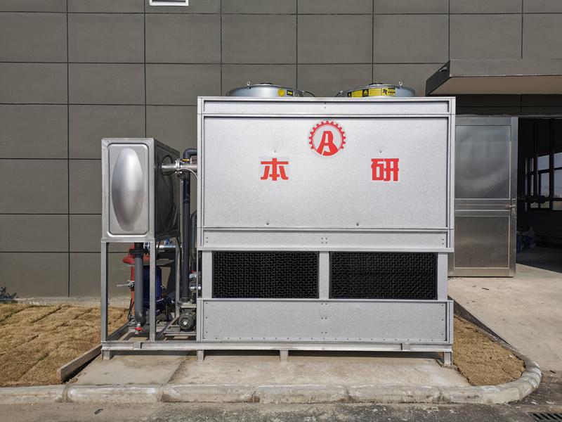 南京密閉式冷卻塔 防腐型密閉冷水塔 橡膠廠冷卻塔系統 水質干凈 節能 節水