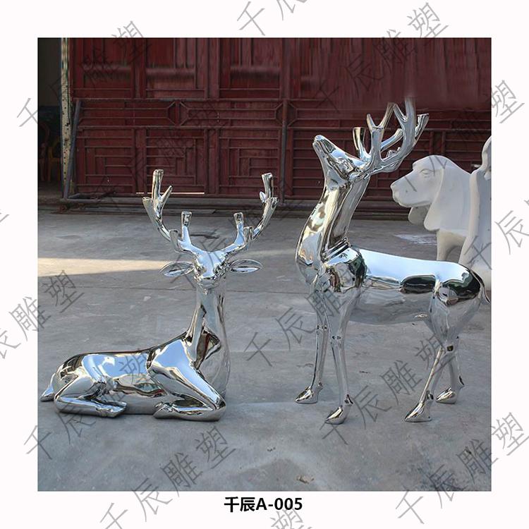 定制动物不锈钢雕塑批发 外观精美
