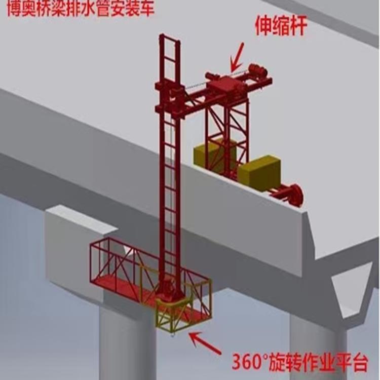 庆阳桥梁排水管安装设备