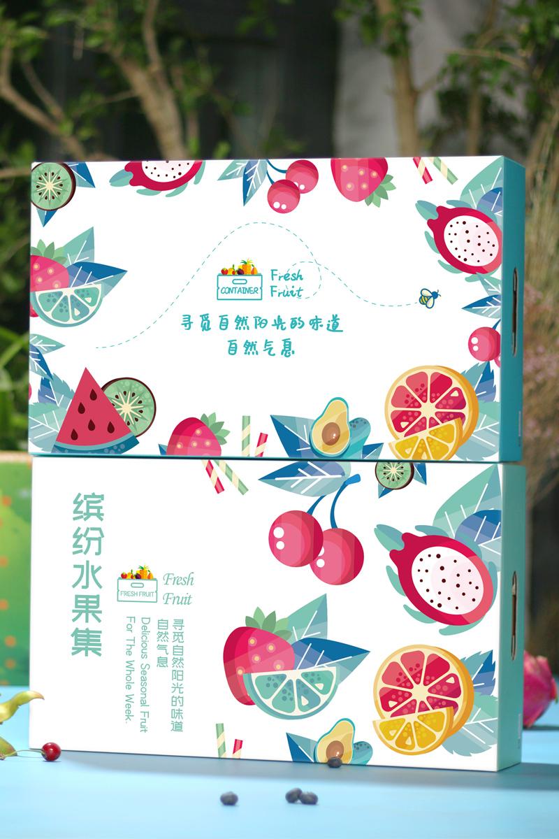 葡萄青紅提子包裝盒禮品箱生產廠家