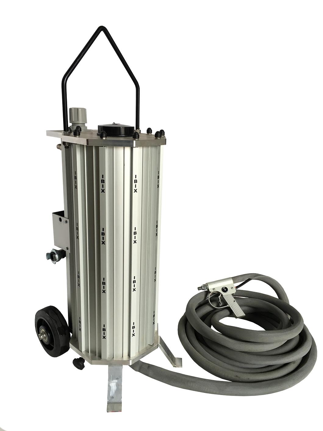 IBIX 25 H2O 干濕兩用型噴砂機