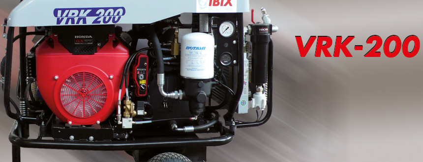 ROTAIR VRK 220 汽油動力空壓機