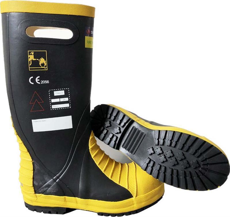 贵州雷克兰9692美标消防靴消防头盔