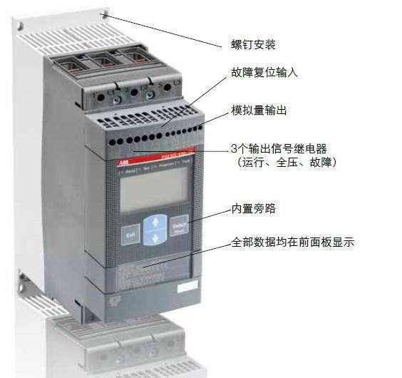 软启动器PSTX720-600-70