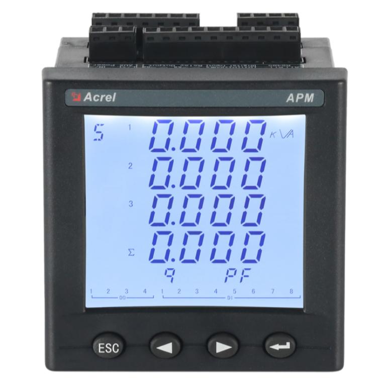 全電量測量電表APM800 精度0.5S LCD顯示