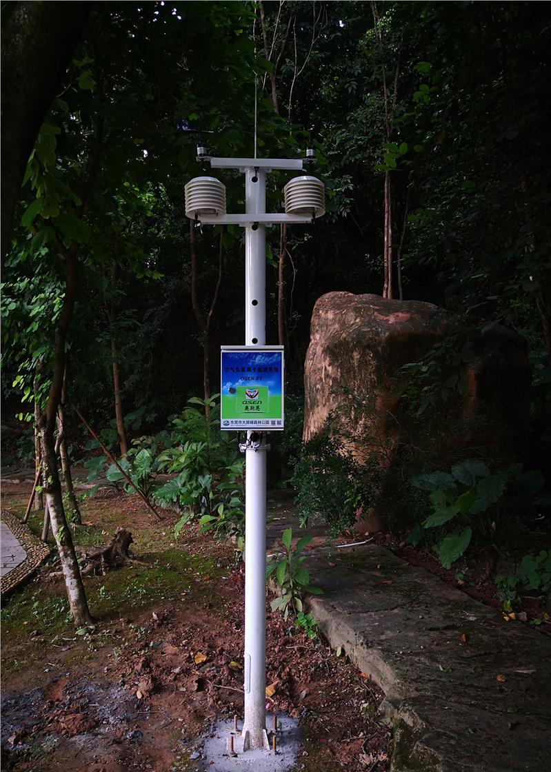 生态负氧离子监测