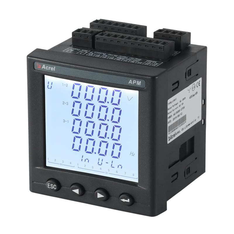 智能電量儀表 三相多功能電能表 APM801