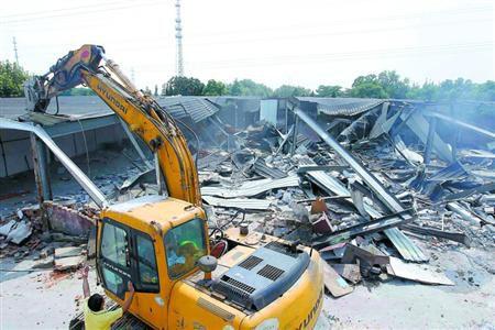 崇明建筑工程拆除費用 煙囪拆除工程