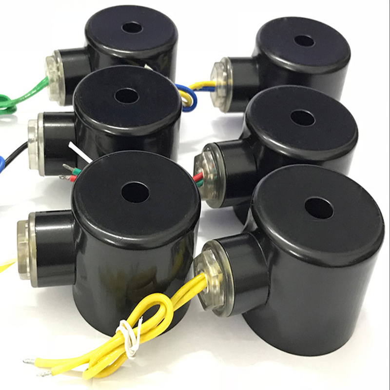 2W電磁閥線圈AC220V DC24V DC12V常閉型2分3分4分6分1寸1.2寸2寸