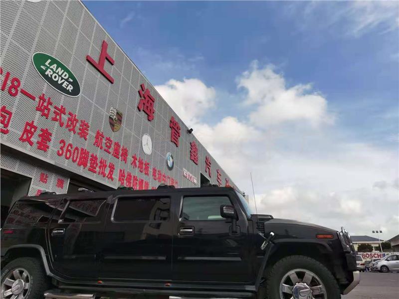 苏州悍马H2改装升降电视厂