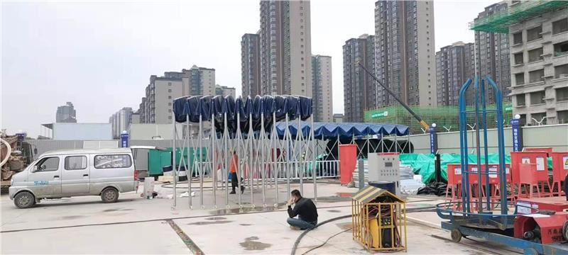 渭南钢结构雨棚