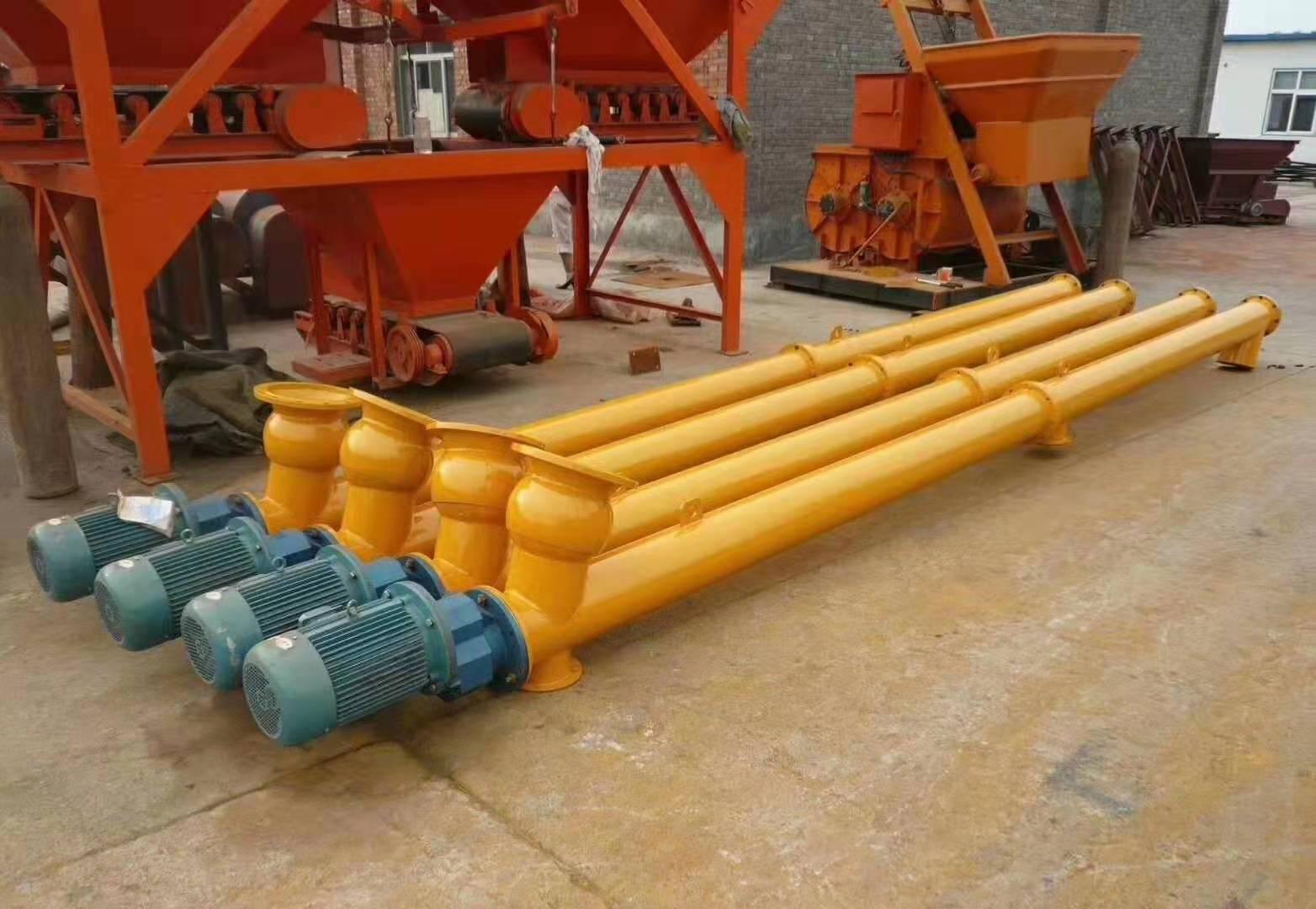 污水處理廠用不銹鋼螺旋輸送機 無軸污泥絞龍輸送機