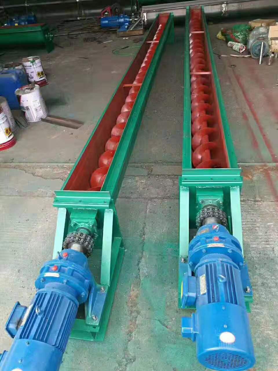 除塵配套螺旋輸送機單管式螺旋輸送機