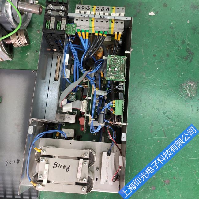 金昌包米勒伺服驅動器顯示報警代碼 主板故障 修好測試好發貨