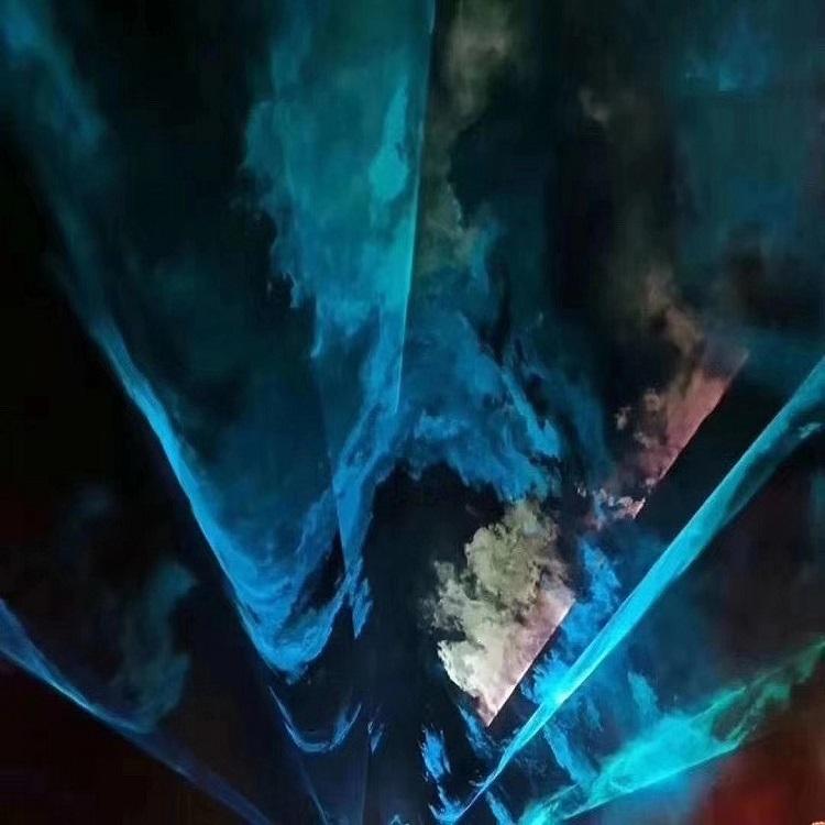 嘉興光影藝術節北極光燈光秀 山東藍胖子游樂設備有限公司