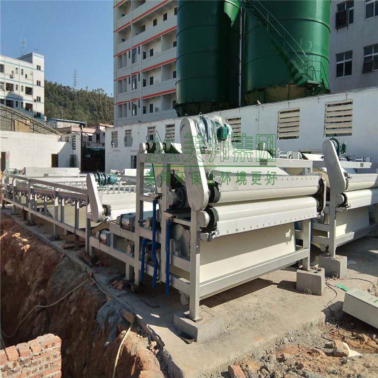 龙岩河道清淤污泥压干机操作方法