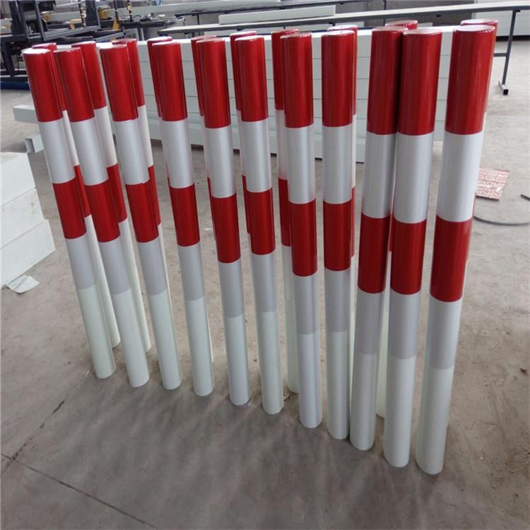 隔离柱玻璃钢警示桩生产厂家-发货速度快-路口隔离警示柱