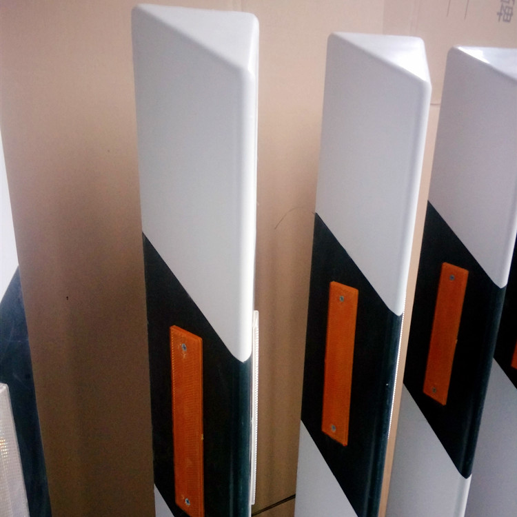 拉挤玻璃钢轮廓标_生产厂家_玻璃钢柱帽式轮廓标