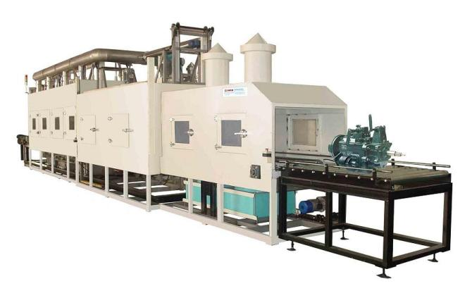 全自动航空器材配套件高压喷淋清洗机