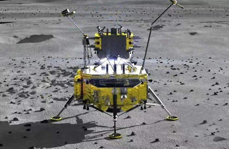 實簽祝嫦娥五號順利回家