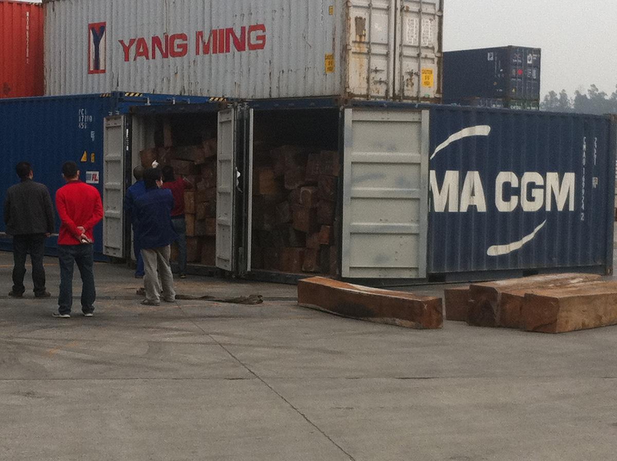 黃埔老港巴沙木板材清關手續及費用-木材包干進口清關服務