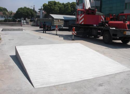 南昌40吨电子地磅安装
