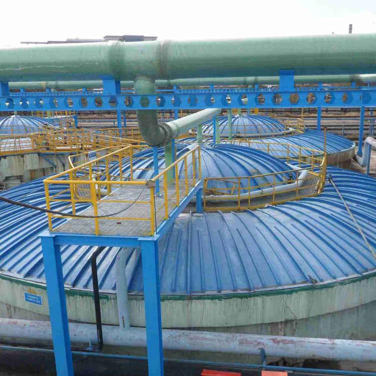玻璃钢污水池-施工方案