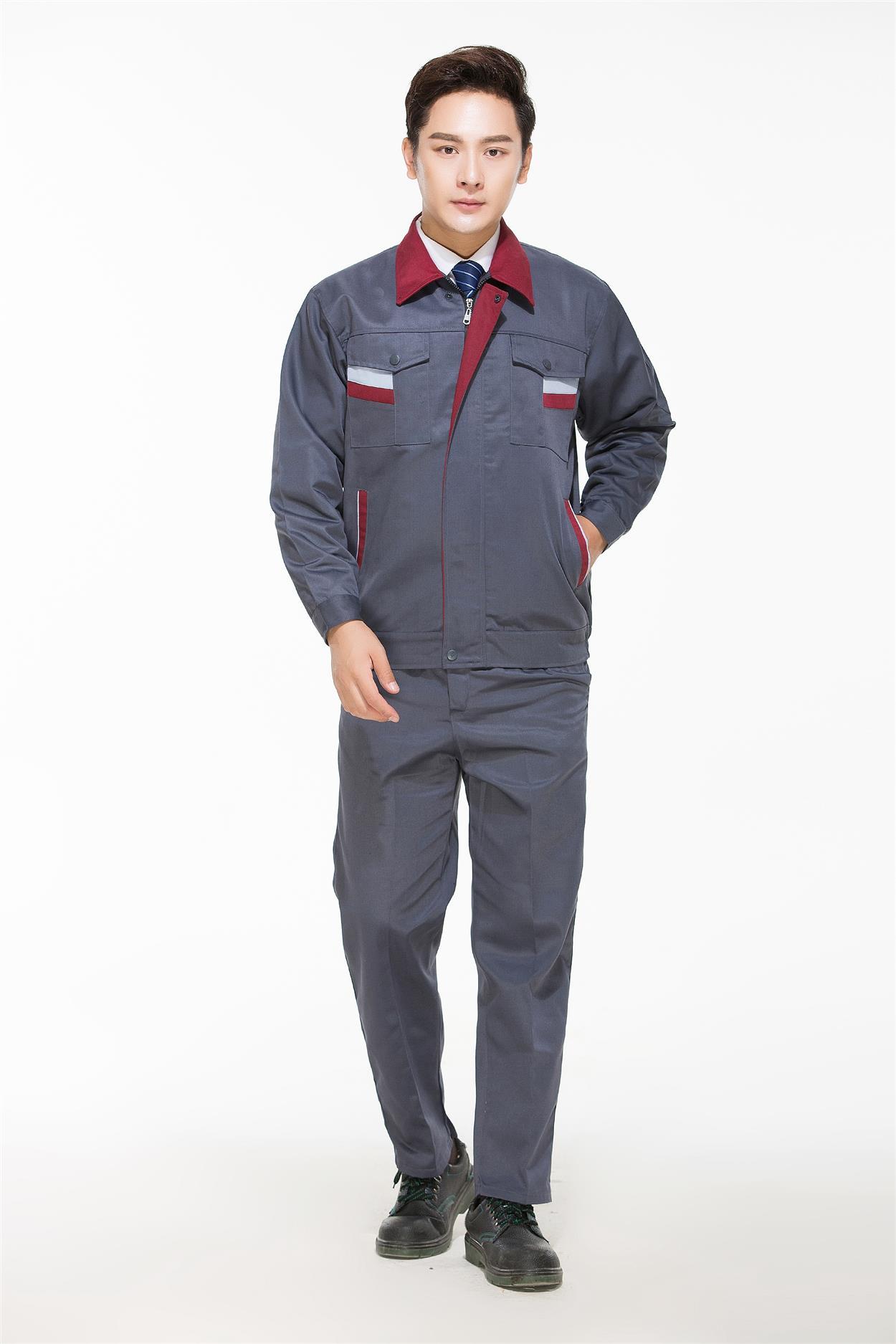 廣西短袖勞保服工作服定制刺繡 耐穿