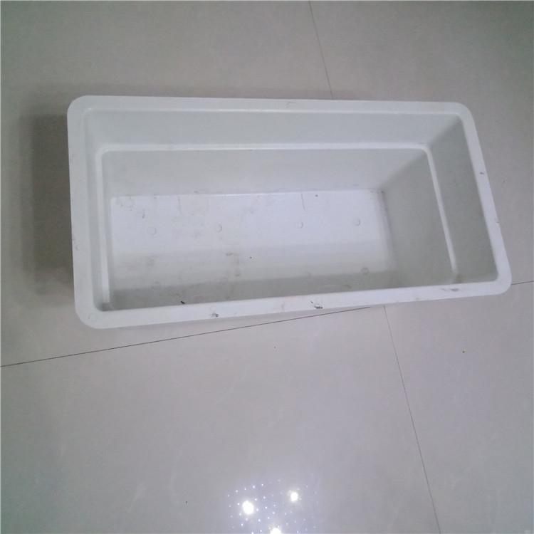 批发价格便宜_景观工程玻璃钢种植箱定制_城市公共设施绿化花盆