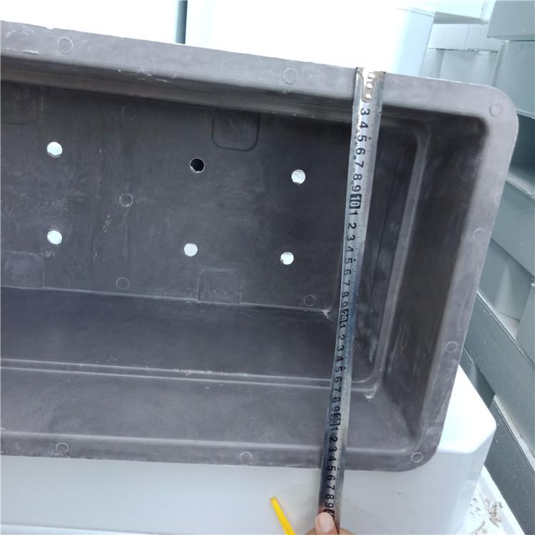 正方形玻璃钢种植箱价格_尺寸订做_户外花盆花槽