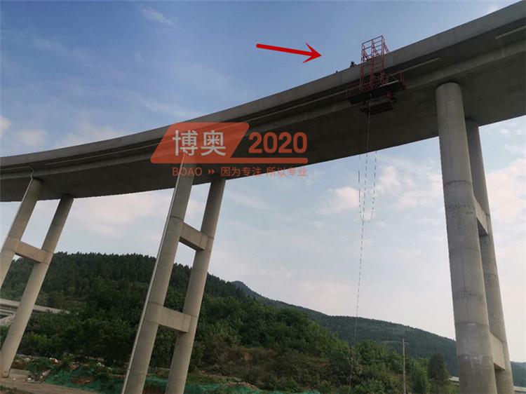 桥梁PVC排水管安装视频
