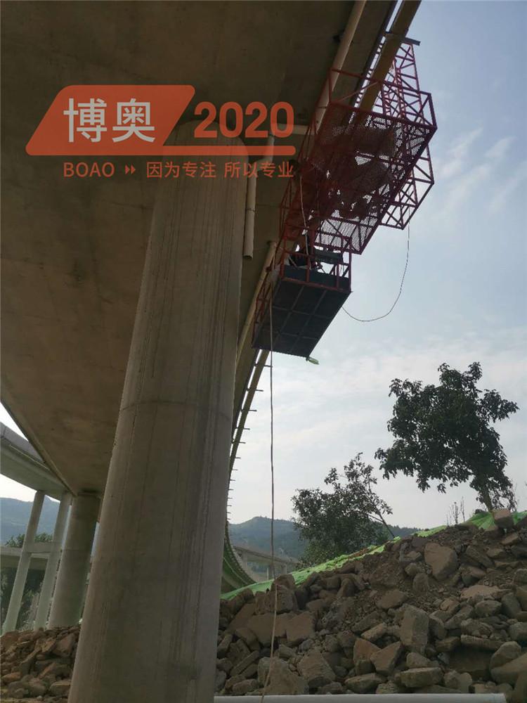 桥梁排水管安装车