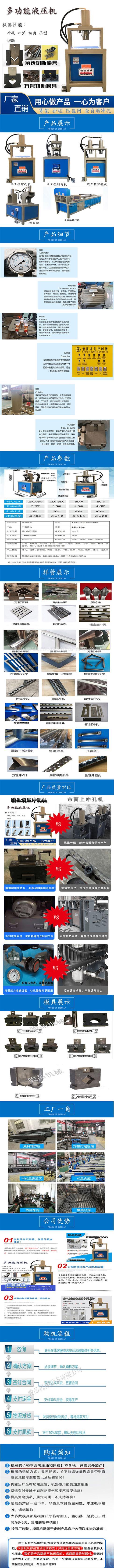 角鋼管材數控方管彩鋼沖剪機開料機廠家****定位