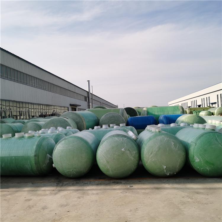 小型缠绕玻璃钢化粪池-生产厂家