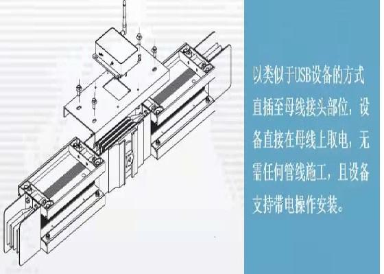 amb200/LR母線接頭測溫_報警值可設置