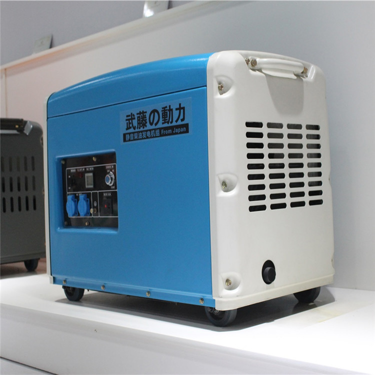 7kw改裝車載靜音柴油發電機