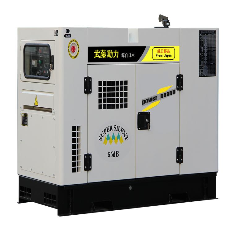 15千柴油靜音防雨柴油發電機