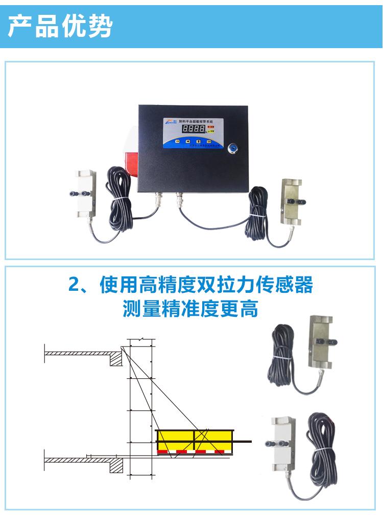 工地卸料平台安全监测安装费
