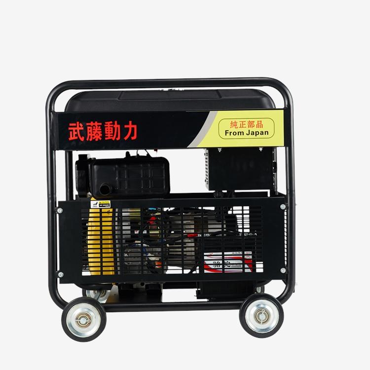 15kw汽油電焊機發電