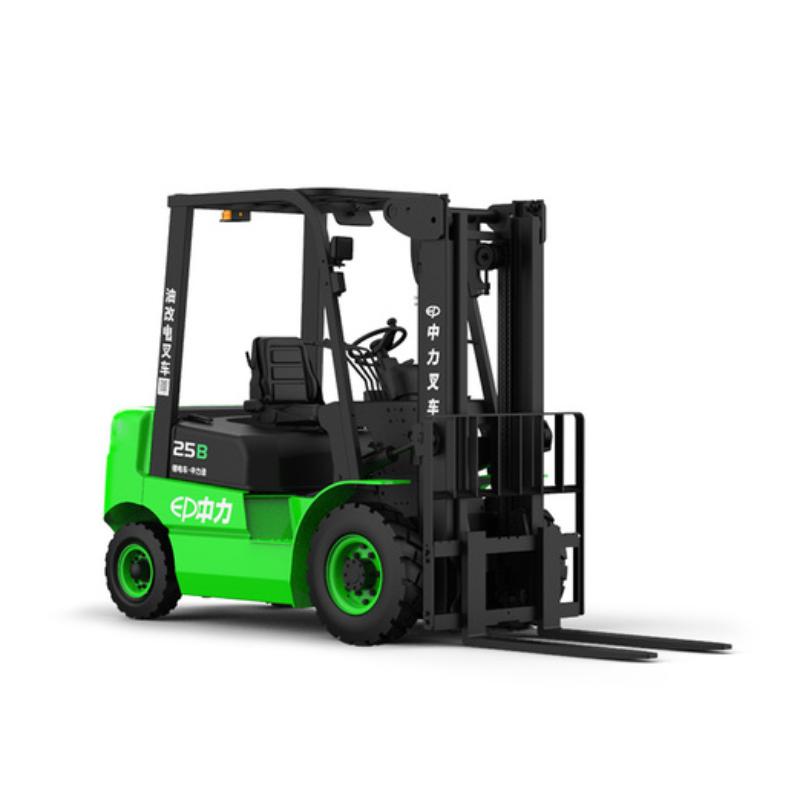 油改電叉車 四輪平衡重叉車 鄂州2.5噸鋰電叉車