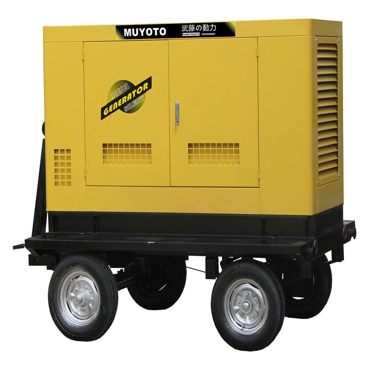 200千瓦移動拖車柴油發電電焊機