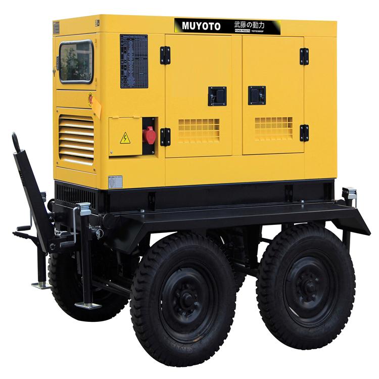 250千瓦移動柴油發電機