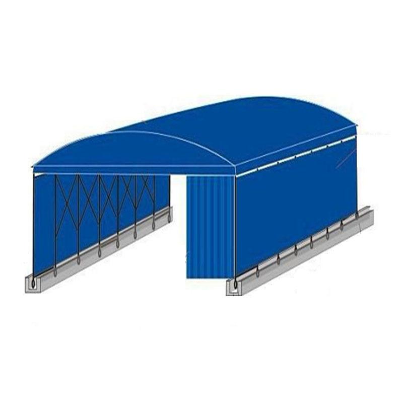五家渠電動伸縮棚定制 按需定制 懸空電動推拉篷