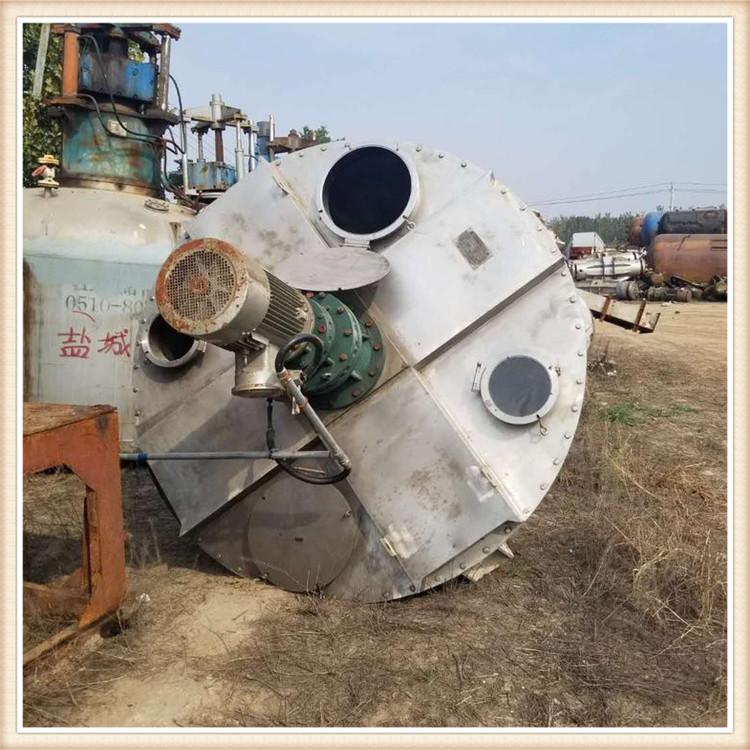 回收二手雙螺旋錐體混合機