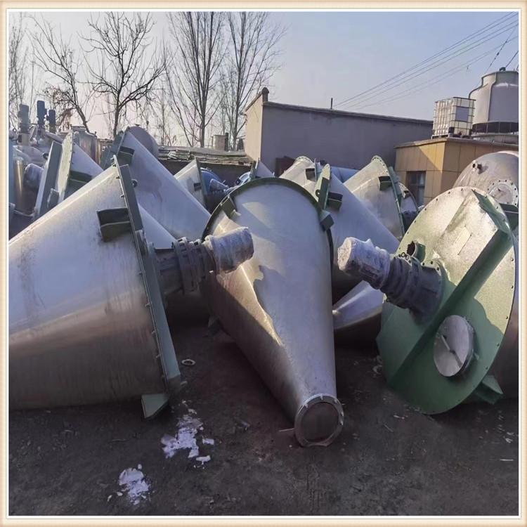 長期供應 二手雙螺桿不銹鋼混合機回收