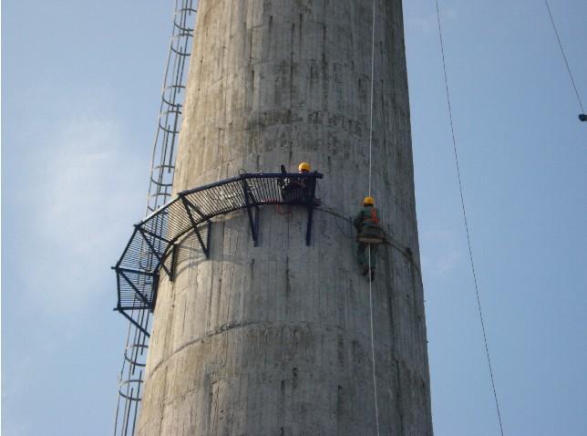 55米砖烟囱拆除 攀枝花砖烟囱维修